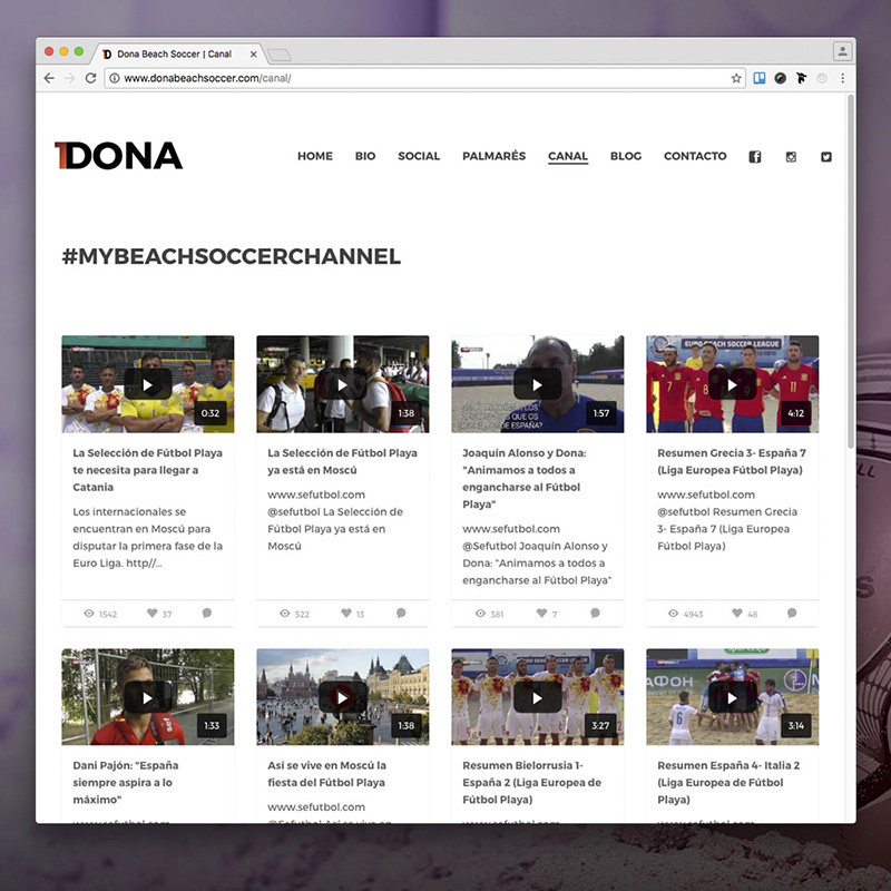 Dona Official Website